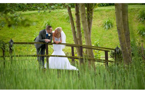 Andrew & Kayleigh's wedding at Minstrel Hall on 3rd May 2014