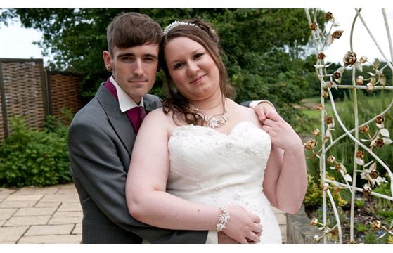 Daniel & Stacey's wedding at Manor Barn, all manor of events, on 10th August 2014