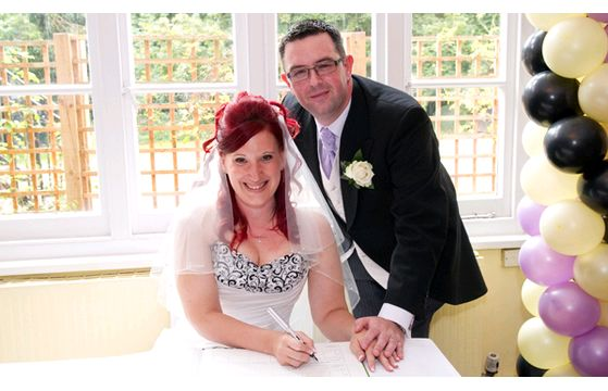 James & Hayley's wedding at The Grange Hotel on 16th August 2014