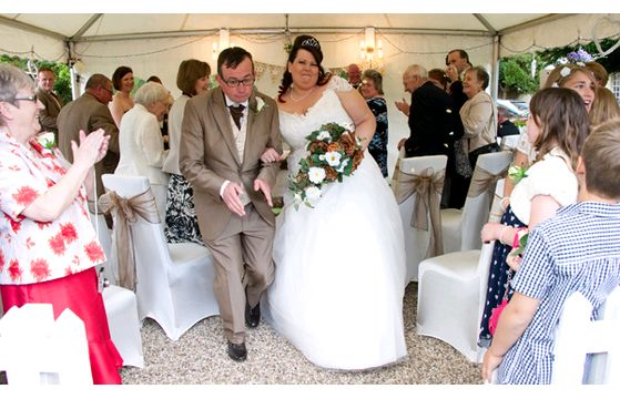 Paul & Carrie's wedding at Crown House Hotel, Gt Chesterford on 24th May 2014