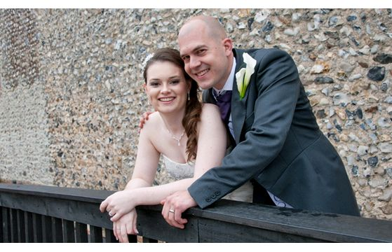 Stuart & Rebecca's wedding at The Granary Barns on 11th July 2014