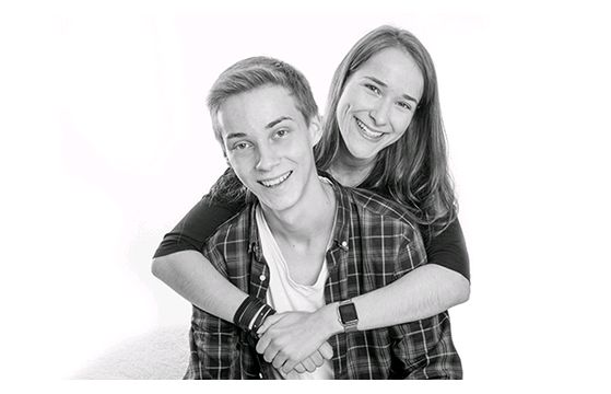 Brother & Sister's Portraits Session