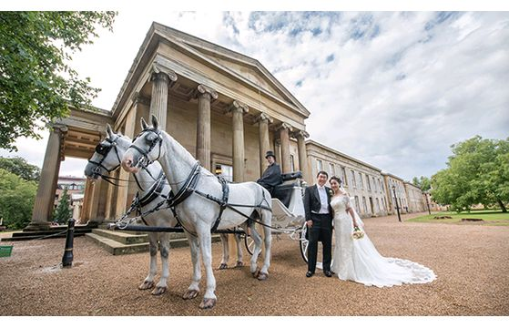 Downing College wedding
